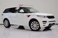 2014 LAND ROVER RANGE ROVER SPORT 3.0 SDV6 HSE 5d AUTO 288 BHP COLOUR CODED BLACK GRILLS £36950.00