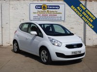 USED 2013 63 KIA VENGA 1.4 CRDI 2 5d 89 BHP One Owner All Dealer History 0% Deposit Finance Available
