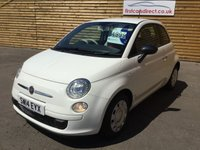 USED 2014 14 FIAT 500 1.2 POP 3d 1 OWNER