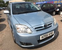 2006 TOYOTA COROLLA 1.6 T3 COLOUR COLLECTION VVT-I 5d 109 BHP £2250.00