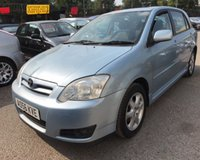 USED 2006 56 TOYOTA COROLLA 1.6 T3 COLOUR COLLECTION VVT-I 5d 109 BHP