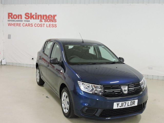 View our 2017 17 DACIA SANDERO 1.0 AMBIANCE SCE 5d 73 BHP