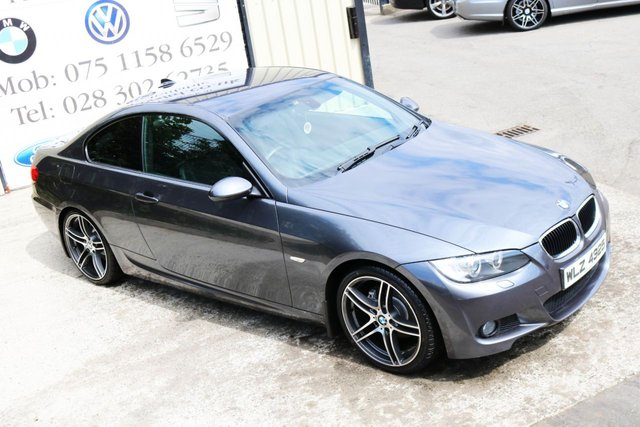 2007 BMW 3 SERIES 320D M SPORT AUTO 175 BHP COUPE  (FINANCE & WARRANTY)