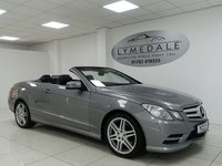 USED 2012 12 MERCEDES-BENZ E CLASS 2.1 E250 CDI BLUEEFFICIENCY SPORT 2d AUTO 204 BHP SAT NAV, FULL LEATHER, EXCELLENT OVERALL CONDITION