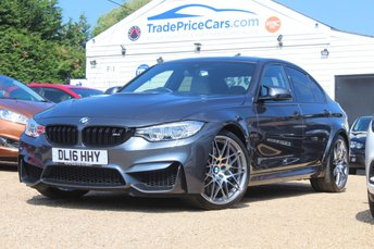 2016 BMW M3 3.0 M3 COMPETITION PACKAGE 4d 444 BHP £40000.00