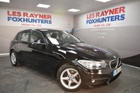2015 BMW 1 SERIES 1.5 116D ED PLUS 5d 114 BHP £11499.00