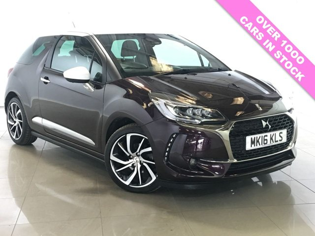 View our 2016 16 DS DS 3 1.2 PURETECH PRESTIGE S/S 3d 129 BHP