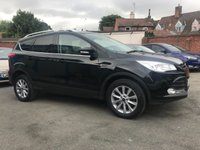 USED 2015 15 FORD KUGA 2.0 TDCI TITANIUM 5d 150 BHP ONE PRIVATE OWNER FROM NEW  NO DEPOSIT  PCP/HP FINANCE ARRANGED, APPLY HERE NOW
