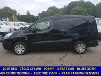 2015 CITROEN BERLINGO 3 SEAT 750LX L2 LWB WITH AIR CON & PARKING SENSORS £6795.00