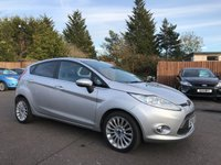 USED 2012 J FORD FIESTA 1.4 TITANIUM 5d WITH BLUETOOTH/AIR CON/ALLOYS NO DEPOSIT FINANCE ARRANGED, APPLY HERE NOW