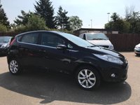 2010 FORD FIESTA 1.4 ZETEC 16V 5d  WITH AIR CON AND ALLOY WHEELS £4000.00