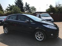 2011 FORD FIESTA 1.25 ZETEC 5d  VERY LOW MILEAGE EXAMPLE £5650.00