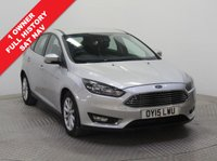USED 2015 15 FORD FOCUS 1.6 TITANIUM NAVIGATION 5d AUTO 124 BHP  1 Owner, Full Service History, serviced in  May 2016 at 11,219 miles, April 2017 at 23,023 miles and July 2018 at 36,615 miles. MOT until 21st March 2019. Auto, Sat Nav, Parking Sensors, Bluetooth, Air Conditioning. Free RAC Warranty Available and Free RAC Breakdown Cover. Nationwide Delivery Available and Finance Available at 9.9% APR Representative.