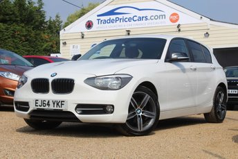 2014 BMW 1 SERIES 2.0 116D SPORT 5d 114 BHP