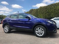 2015 NISSAN QASHQAI 1.5 DCI ACENTA SMART VISION 5d ONE PRIVATE OWNER FROM NEW  £11250.00