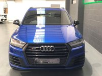 "USED 2017 17 AUDI Q7 4.0 SQ7 TDI QUATTRO 5d AUTO 429 BHP Panroof, 22"" Alloys, Black Styling Pack, Full Audi Service"