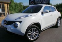 USED 2011 61 NISSAN JUKE 1.6 ACENTA PREMIUM 5d 117 BHP 2 Owners - 6 Service Stamps - Perfect Mid Size Hatch