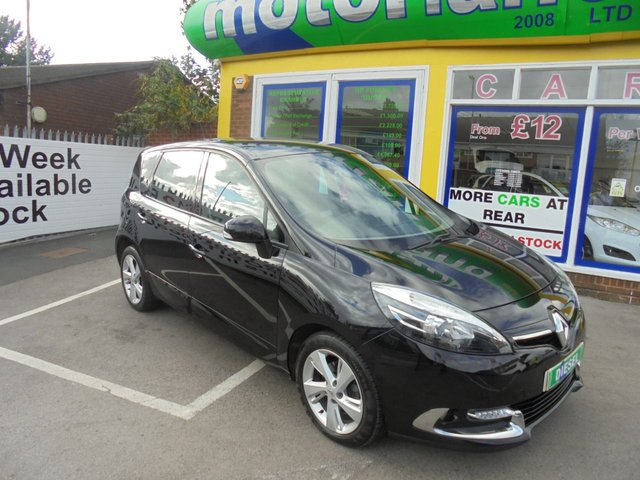 USED 2013 13 RENAULT SCENIC 1.5 DYNAMIQUE TOMTOM ENERGY DCI S/S 5d 110 BHP ** 01543 877320 ** JUST ARRIVED **FULL SERVICE HISTORY **