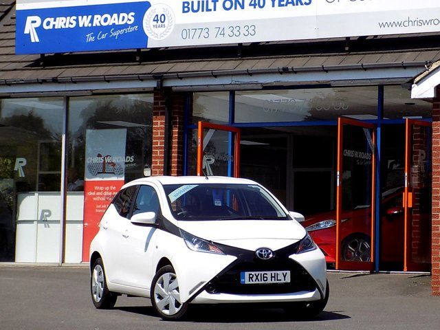 USED 2016 16 TOYOTA AYGO 1.0 VVT-I X-PLAY 5dr **Air Con + Bluetooth + Zero RFL**