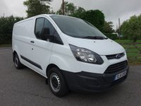 2014 FORD TRANSIT CUSTOM FORD TRANSIT CUSTOM 270 L1 SWB 2.2 TDCI 100 PS £10995.00