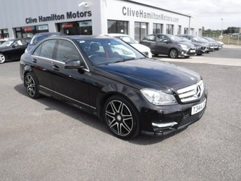 2012 MERCEDES-BENZ C CLASS 2.1 C220 CDI BLUEEFFICIENCY AMG SPORT PLUS 4d 168 BHP £10995.00