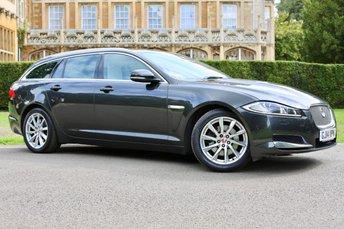 2014 JAGUAR XF 3.0 D V6 PREMIUM LUXURY SPORTBRAKE 5d AUTO 240 BHP £14250.00