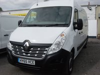 2015 RENAULT MASTER 2.3 LM35 BUSINESS DCI S/R P/V 1d 125 BHP AIR CON £SOLD