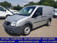 2013 FORD TRANSIT CONNECT 200 SWB WITH AIR CON & REAR VIEW CAMERA £5295.00