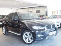 USED 2012 12 BMW X6 3.0 XDRIVE30D 4d AUTO 241 BHP 5 SEATS+SAT NAV+LEATHER+FBMWSH