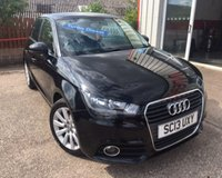 USED 2013 13 AUDI A1 1.6 SPORTBACK TDI SPORT 5d 103 BHP NIL ROAD TAX,ALLOY WHEELS,