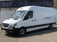 USED 2015 65 MERCEDES-BENZ SPRINTER 313 CDI LWB Hi Roof 2.1 130 BHP 2015 (65) Plate White