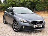 USED 2015 15 VOLVO V40 1.6 D2 CROSS COUNTRY LUX 5d AUTO 113 BHP