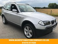 2005 BMW X3 2.5 SPORT 5d 190 BHP £3995.00