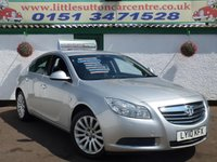USED 2010 10 VAUXHALL INSIGNIA 1.8 SE 5d 138 BHP FULL DEALER HISTORY, 2 OWNERS, 39,000 MILES