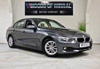 2014 BMW 3 SERIES 2.0 320D EFFICIENTDYNAMICS BUSINESS 4d 161 BHP £9980.00