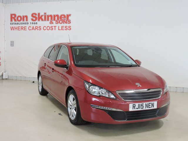 View our 2015 15 PEUGEOT 308 1.6 BLUE HDI S/S SW ACTIVE 5d 120 BHP