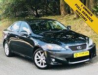 2011 LEXUS IS 2.5 250 SE-I 4d AUTO 205 BHP £7500.00
