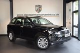 USED 2015 15 VOLKSWAGEN TOUAREG 3.0 V6 ESCAPE TDI BLUEMOTION TECHNOLOGY 5DR AUTO 259 BHP + FULL BLACK LEATHER INTERIOR + FULL SERVICE HISTORY + 1 OWNER FROM NEW + SATELLITE NAVIGATION + FULL PANORAMIC ROOF + BLUETOOTH + HEATED SEATS + DAB RADIO + CRUISE CONTROL + USB/AUX PORT + RAIN SENSORS + PARKING SENSORS + 19 INCH ALLOY WHEELS +