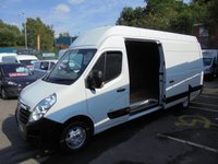 USED 2015 65 VAUXHALL MOVANO 2.3 CDTI DIESEL L4 H3 R3500 125 BHP, FULL SERVICE HISTORY LASTED SERVICE AT 95,000 MILES