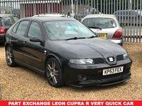 2003 SEAT LEON 1.8 CUPRA R 20V 5d 207 BHP £1995.00