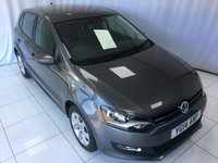 2014 VOLKSWAGEN POLO 1.2 MATCH EDITION 5d 69 BHP £7500.00