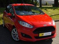 2013 FORD FIESTA 1.0 ZETEC S 3d 124 BHP £7995.00