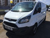 USED 2016 16 FORD TRANSIT CUSTOM 2.2 290 LR P/V 1d 99 BHP