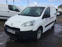 2014 PEUGEOT PARTNER 1.6 HDI S L1 850 1 OWNER LOW MILEAGE  £6300.00