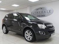 USED 2011 61 VAUXHALL ANTARA 2.2 SE CDTI 5d 161 BHP FULL LEATHER, SUPERB CONDITION, HEATED FRONT SEATS