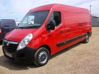 USED 2014 14 VAUXHALL MOVANO 2.3 F3500 L3H2 CDTI 1d 123 BHP ** AIR CONDITIONING ** ONE OWNER FROM NEW **FULL  SERVICE HISTORY *