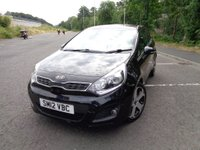 USED 2012 12 KIA RIO 1.4 3 3d 107 BHP 12 MONTH WARRANTY