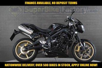 2012 TRIUMPH STREET TRIPLE R  £4391.00