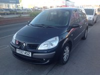 USED 2007 07 RENAULT GRAND SCENIC 1.6 DYNAMIQUE VVT 7STR 5d 111 BHP 7 seater, drives superb, very clean and tidy.