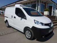 USED 2015 65 NISSAN NV200 1.5 DCI ACENTA NEW GAH CHILLER, 90 BHP, REVERSE CAMERA